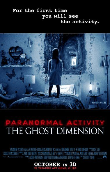 Paranormal Activity Dimension BluRay