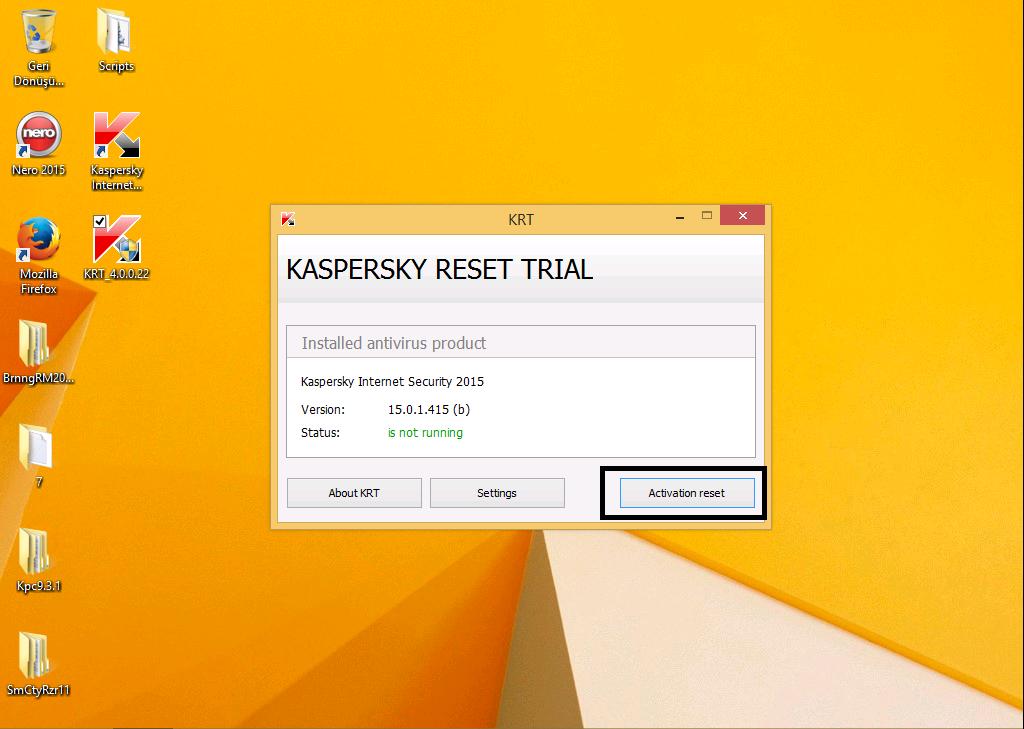 Kaspersky Trial resetter 4 0 0 22 Rare